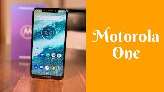 Motorola One - test