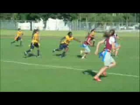 Girls Flag Football, Michelle