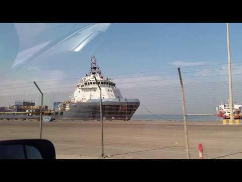 visit to Abu Dhabi Shaikh Zayed Port (Mina Port)