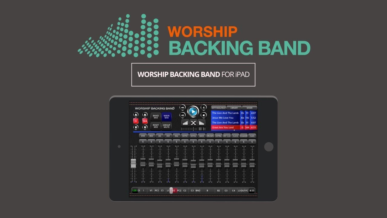 Worship Backing Tracks & MultiTracks for Churches
