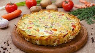 Картофельный киш - Рецепты от Со Вкусом