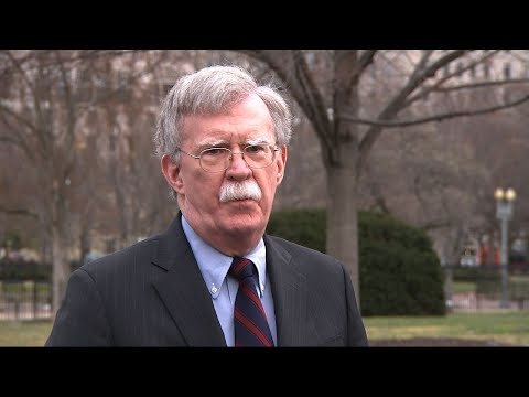 Bolton: 'Greatly disturbed' by NZ terror attack