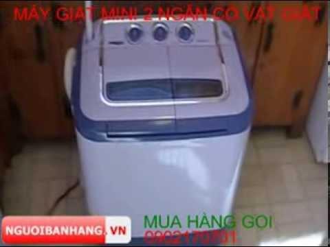 Máy giặt mini 2 ngăn giặt vắt tự động giá rẻ nhất tại maygiat.nguoibanhang.vn