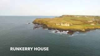 Northern Ireland Coast drone footage version 2