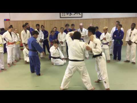 Harai-Goshi with Former World Champion & Olympic Silver Medalist Mika Sugimoto