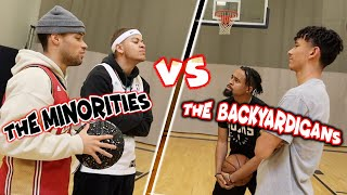 The Minorities Vs The Backyardigans | HILARIOUS 2v2!