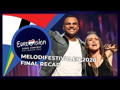 Melodifestivalen 2020 (Sweden) | Final | RECAP