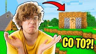 NAJBRZYDSZE DOMY w  Minecraft Kwadratowa Masakra