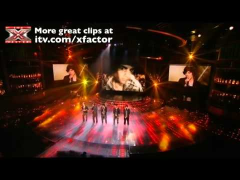 One Direction sing You Are So Beautiful - The X Factor Live show 8 - itv.com/xfactor