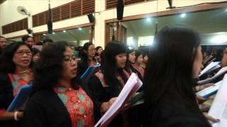 Alam Raya Karya Bapa (Gereja St. Yakobus Klodran Bantul - Yogyakarta)