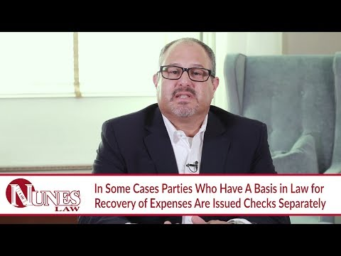 How Will My Settlement Checks Be Issued? – California Personal Injury Attorney Frank Nunes explains