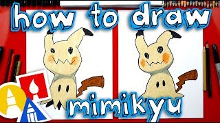 How To Draw Mimikyu