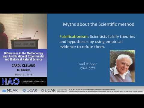 Carol Cleland | CU BOULDER | Differences in the Methodology and Justification