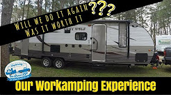 Workamping - Our Campground Host Experience - Frugal RV Living