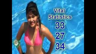 MISS CLAVERIA 2011 VITAL STAT