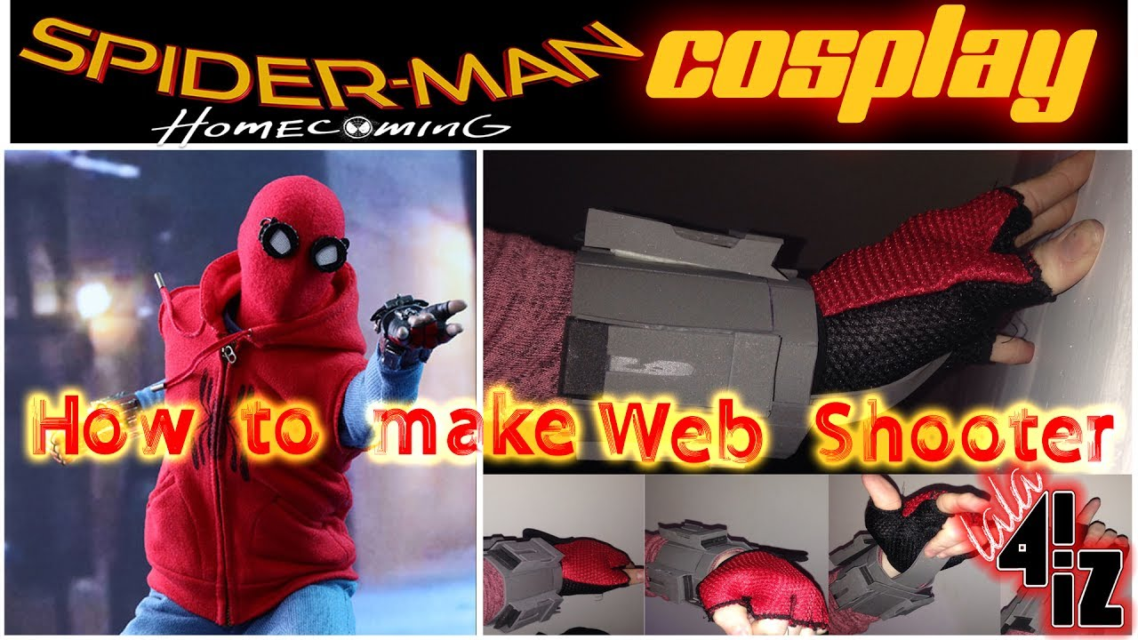 How to make web shooter homemade
