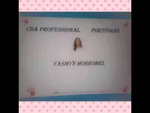 how to make a cda portfolio