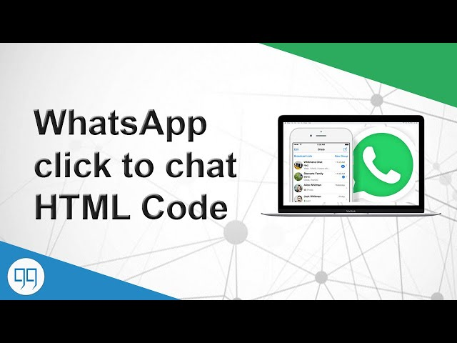 Adding WhatsApp Click to chat in HTML – ITGiggs