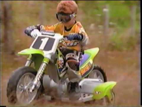 Kawasaki Power Wheels Dirt Bike Commercial 2002 Youtube