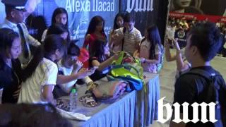 #BUMLiveWithNLEX Meet N Greet with Nash and Alexa