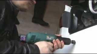 видео Door removal Honda Accord 7th)) Разборка двери и снятие дверной ручки!