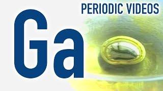 Gallium (beating heart) - Periodic Table of Videos thumbnail