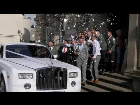Brian and P&39;s wedding Enchanted Limousines & weddings