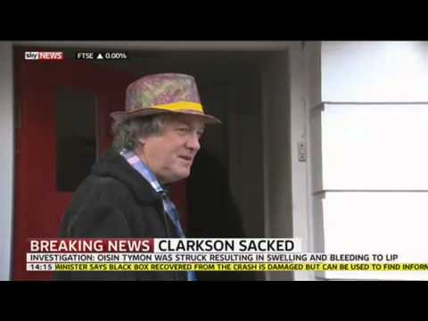 Top Gear Presenter James May Reacts To Jeremy Clarkson Being Sacked By BBC video
