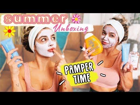 summer-unboxing:-pamper-time