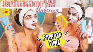 Summer Unboxing: Pamper Time