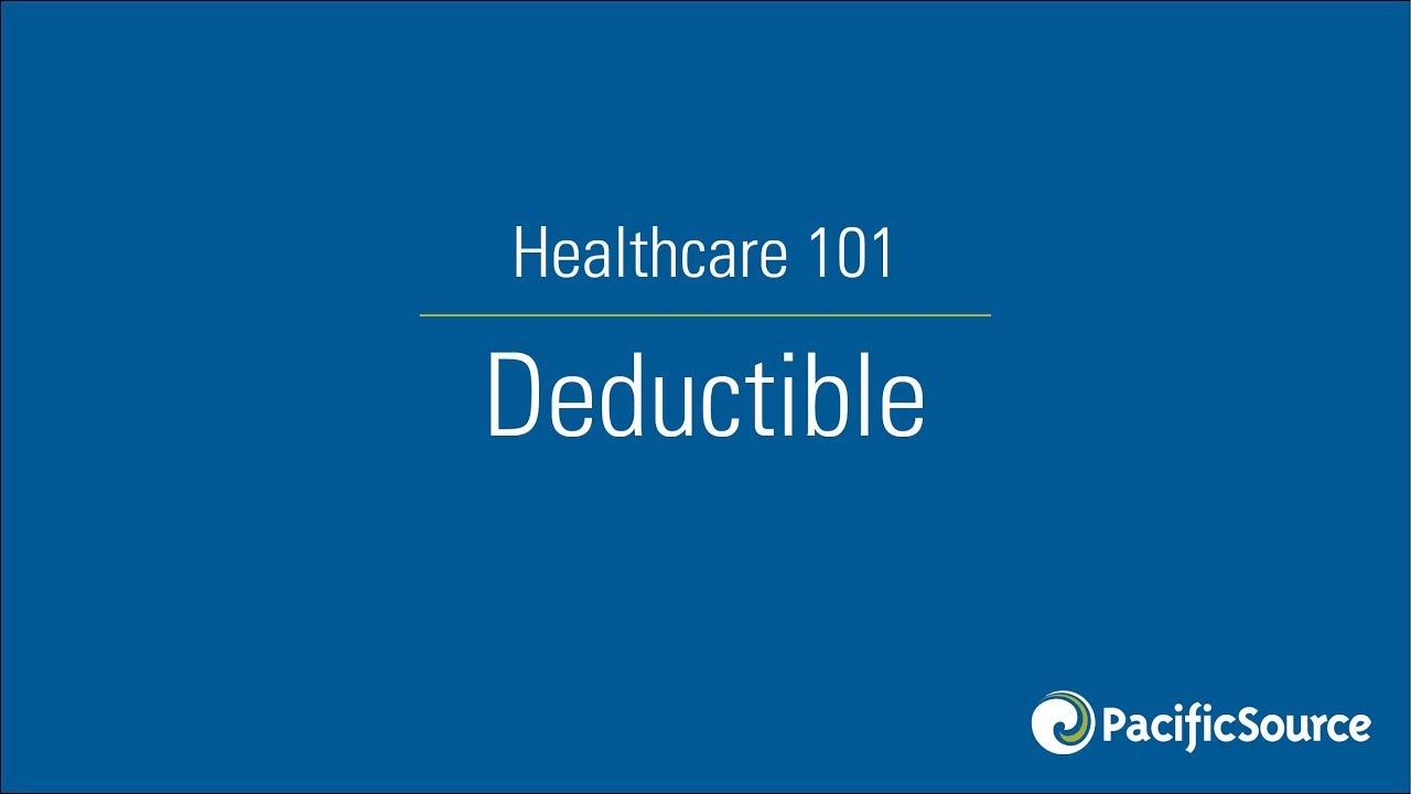 Healthcare 101 | Deductible - YouTube