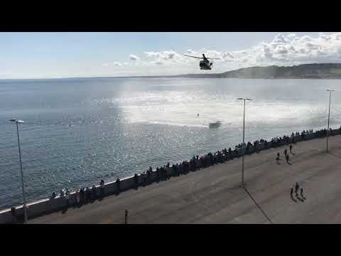 Rescue at sea. Danish Air Force