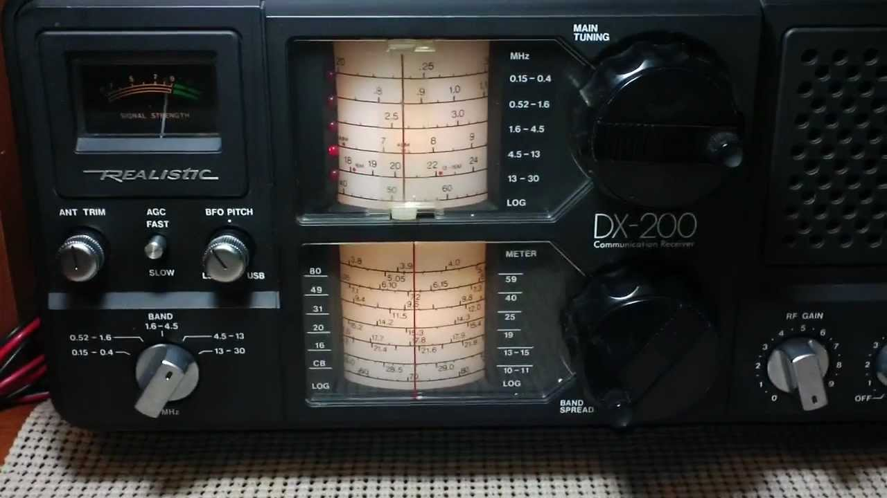 Realistic Dx 200 Shortwave Receiver Just Aquired Swl Radio