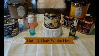 Early Fall Bath & Body Works Haul