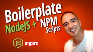 Frontend Boilerplate basado en NodeJS y NPM scripts
