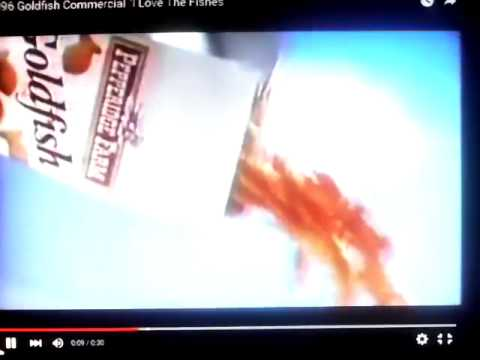 Goldfish commercial i love the fishes 1996 youtube for I love the fishes