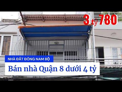 Chính chủ bán nhà hẻm 432A Dương Bá Trạc P1 Quận 8 dưới 4 tỷ. Hẻm 5m