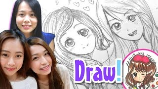 Draw My Friends in Manga Style! Draw with AngieARTmanga!