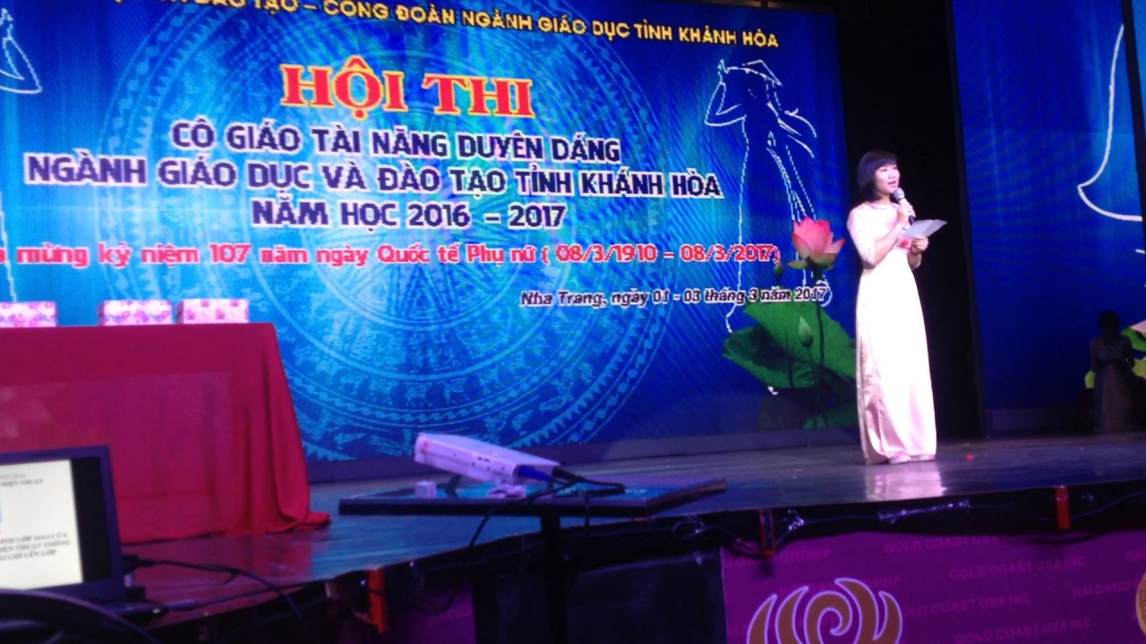 Phần thi Xử lý tình huống sư phạm - Cô Nguyễn Thị Linh Đan đạt giải nhất