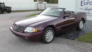 This 1998 Mercedes Benz SL 600 V12 R129 is incredibly well engineered and a bargain collectible