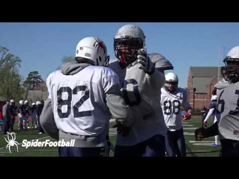 Highlights: April 8 - Spring Football 2017
