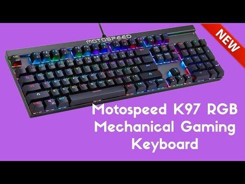 Motospeed K97 RGB Mechanical Gaming Keyboard