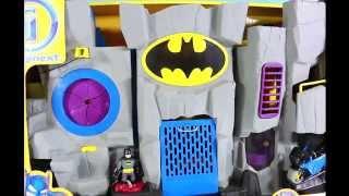 BEST Bat Cave Batman Robin Imaginext Vintage Batcave Toy!