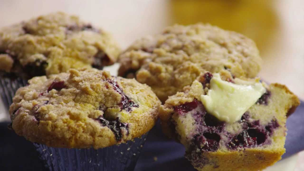 How to Make To Die For Blueberry Muffins | Allrecipes.com - YouTube