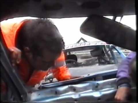 Onboard carnage 2011 Banger racing