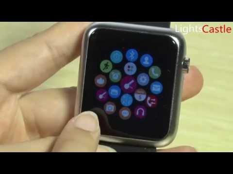 Scinex SW20 Smartwatch Instructional Tutorial Step-by-s ...