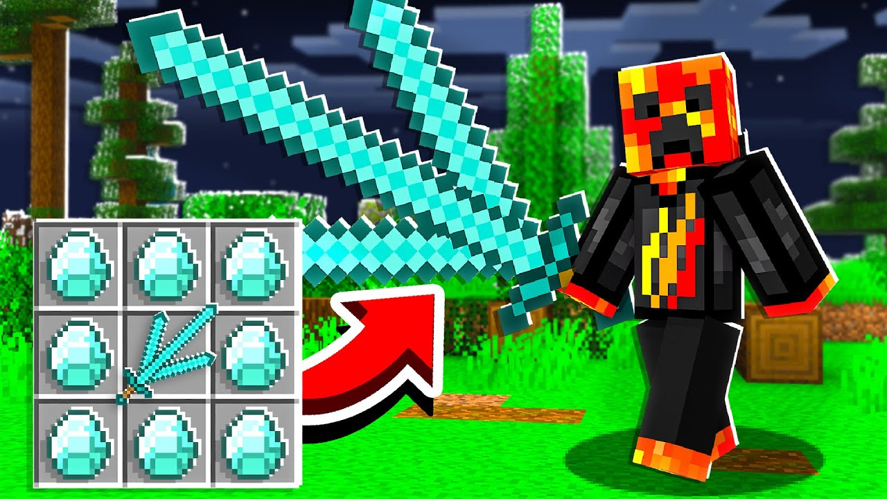 7 New DIAMOND Weapons that Could Be in Minecraft 1.17! thumbnail