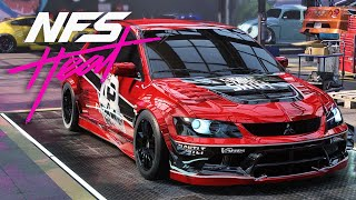FASTEST CAR??? EVO 9 BUILD - NEED FOR SPEED HEAT Gameplay Walkthrough Part 28