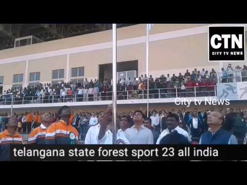 CITY tv NEWS.Telangana State Forest Department is organizing 23rd All India Forest Sport