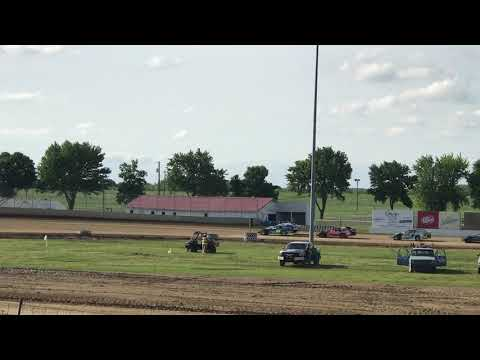 Clay County Speedway Heat Race Sport Mods 6/10/18